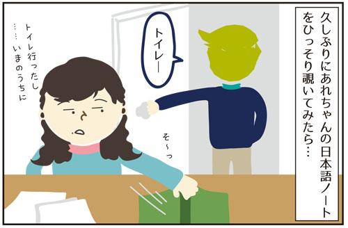 久しぶりに覗いちゃった!あれちゃんの日本語ノート