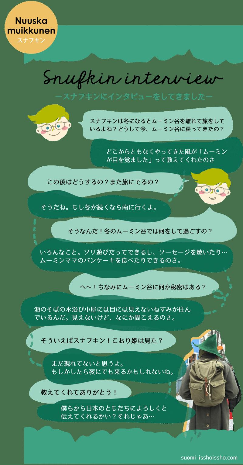 スナフキンインタビュー