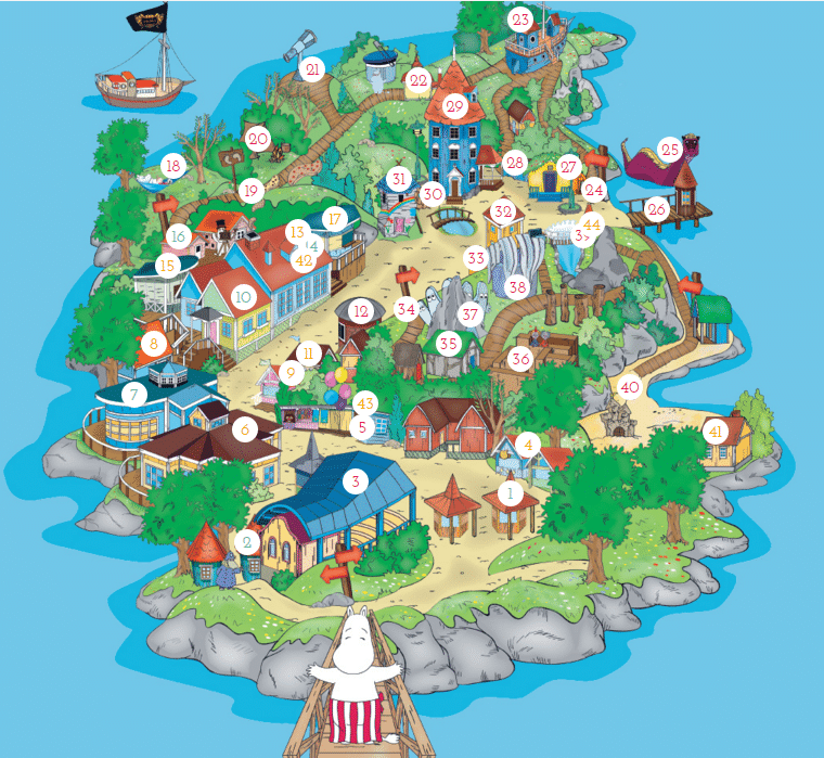 muumitmaailma map