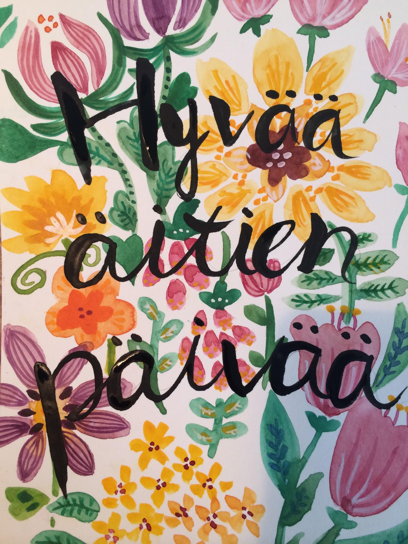 お母さんに優しい国、フィンランドの母の日