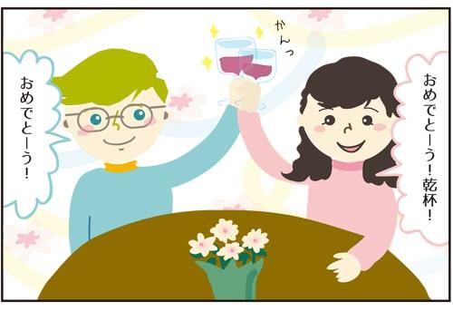結婚記念日お祝い