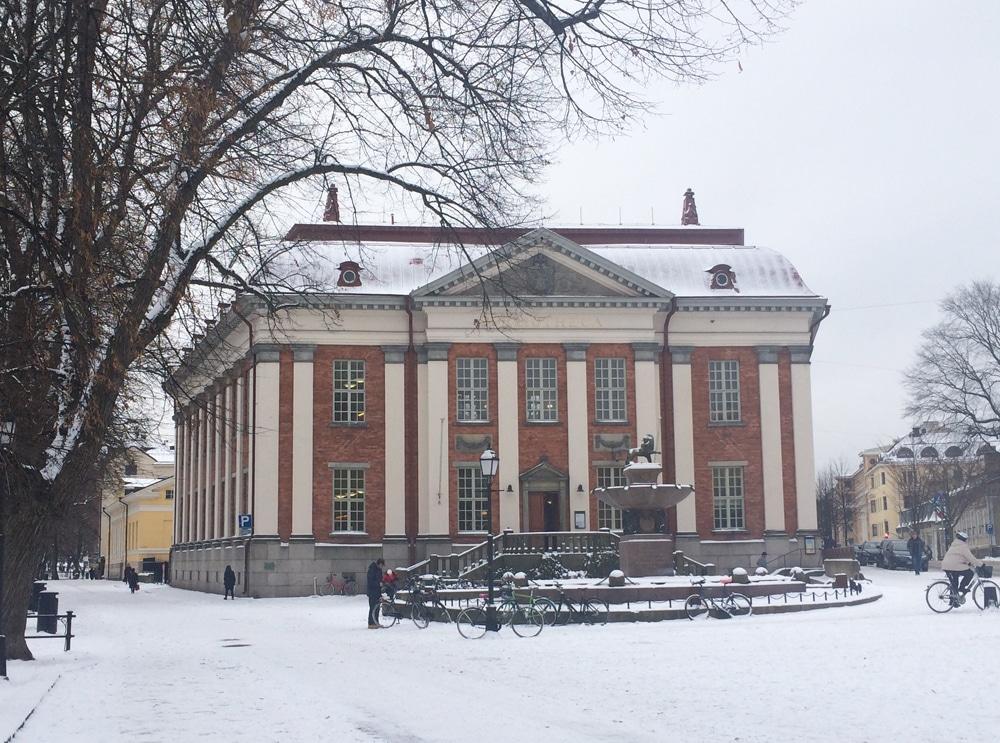 トゥルク図書館