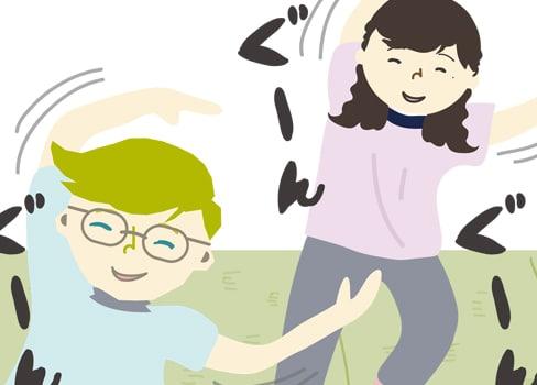 """フィンランド発祥!心も体も癒やされる""""Asahi(あさひ)""""体操をやってみよう"""