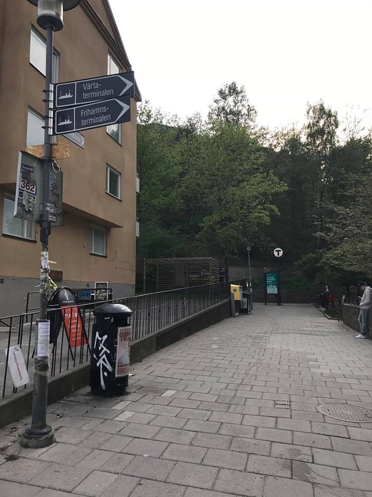 ストックホルム駅行き方