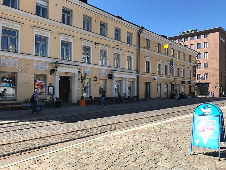 TORIKORTTELIT ヘルシンキ観光
