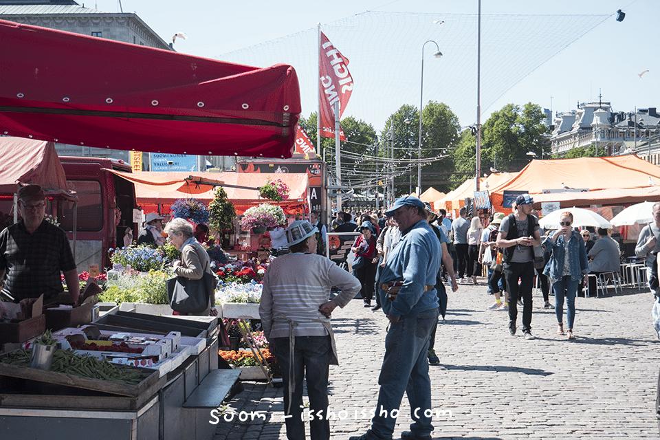 ヘルシンキ中央市場
