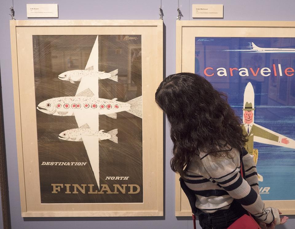 フィンランド独立100周年記念ポスター展