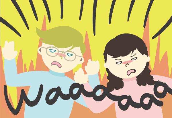 国際結婚 夫婦喧嘩