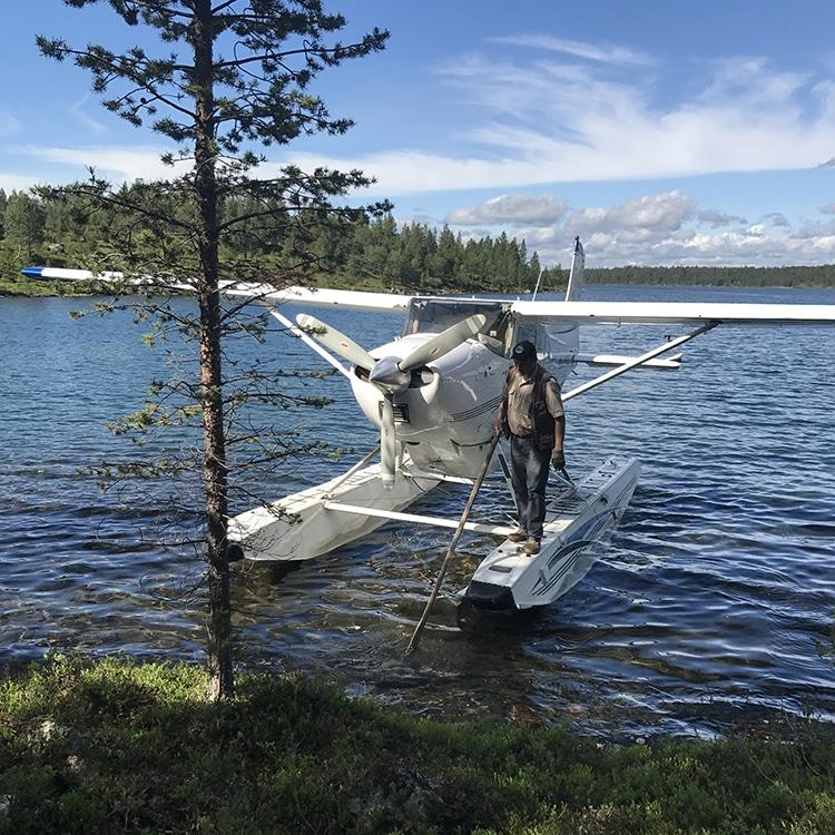 水上飛行機 フィンランド