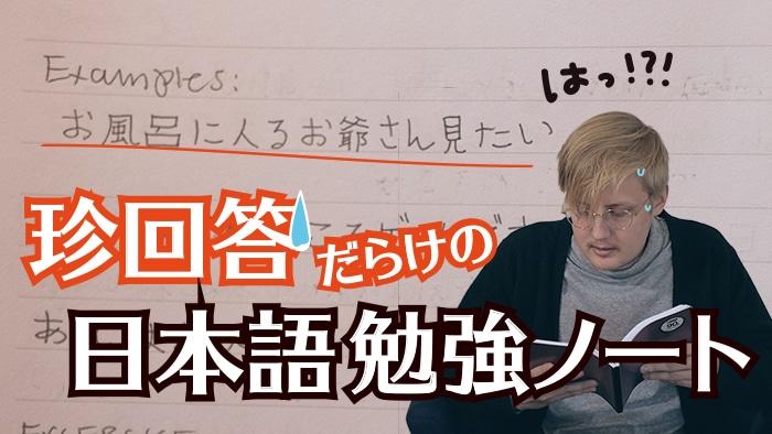 【間違いだらけの日本語勉強ノート発掘編】あれちゃんの日記#02
