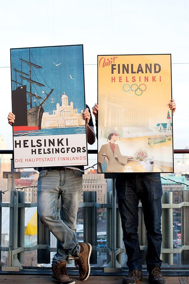 フィンランド ポスター展示