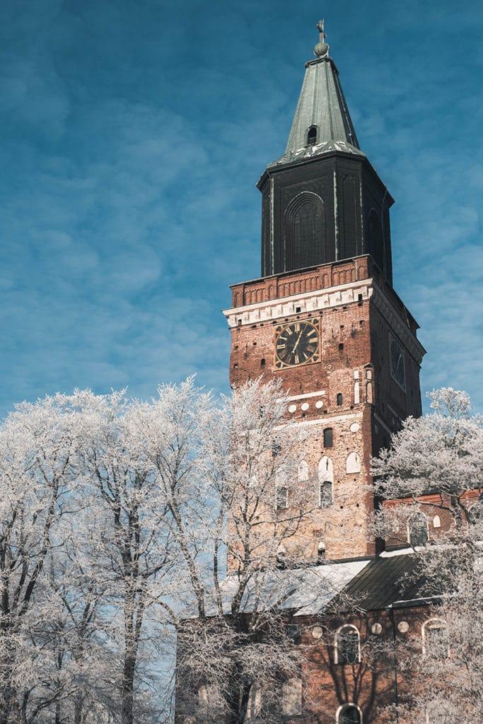 フィンランド冬 トゥルク