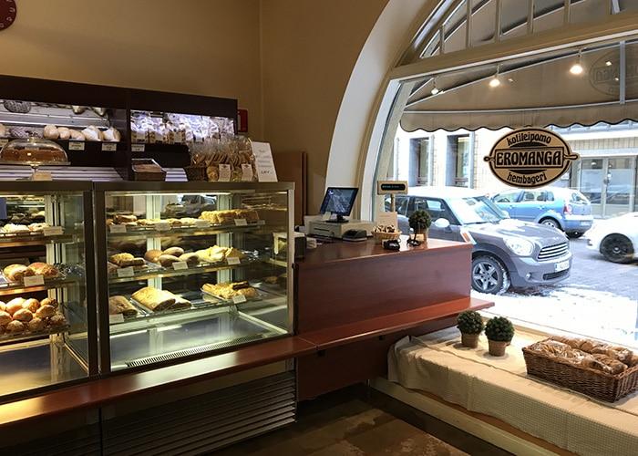 エロマンガ カフェ パン屋