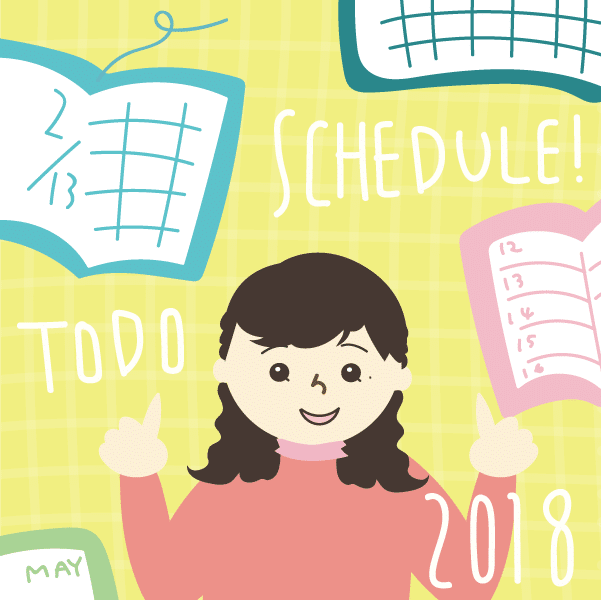 アナログ派?デジタル派?2018にオススメしたいスケジュール帳&カレンダー