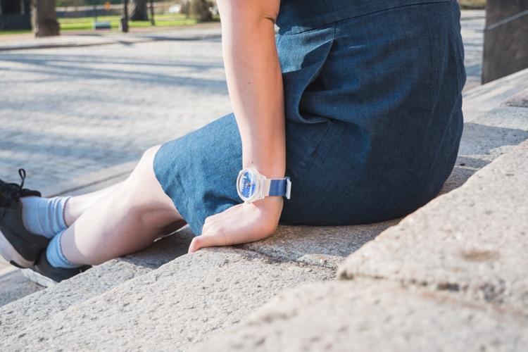 ムーミン ソーラー 腕時計