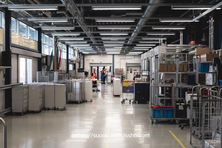 フィンエアー 工場