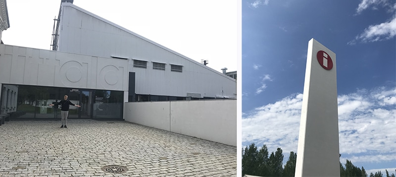 イッタラガラス工場見学