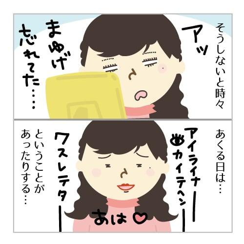 習慣 化粧