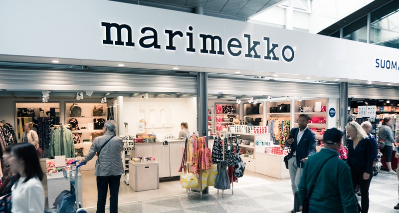 マリメッコ 免税店