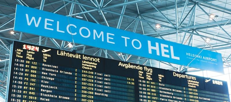 ヴァンター空港 入国