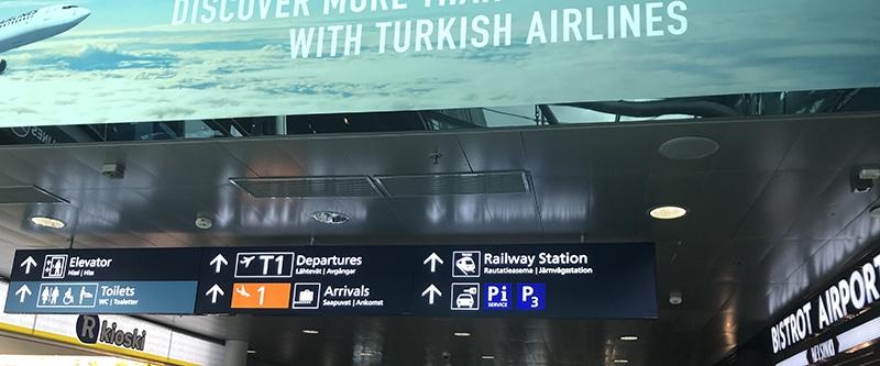 ヴァンター空港 電車