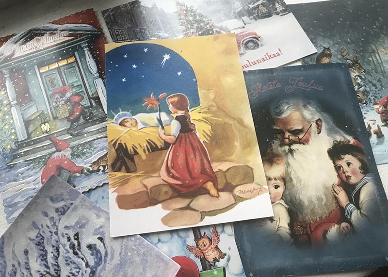 フィンランド クリスマスカード