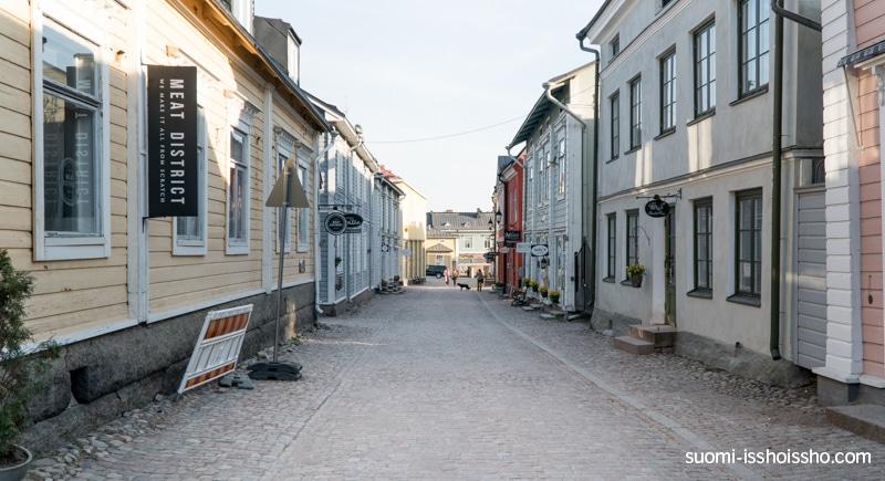 ポルヴォー 旧市街