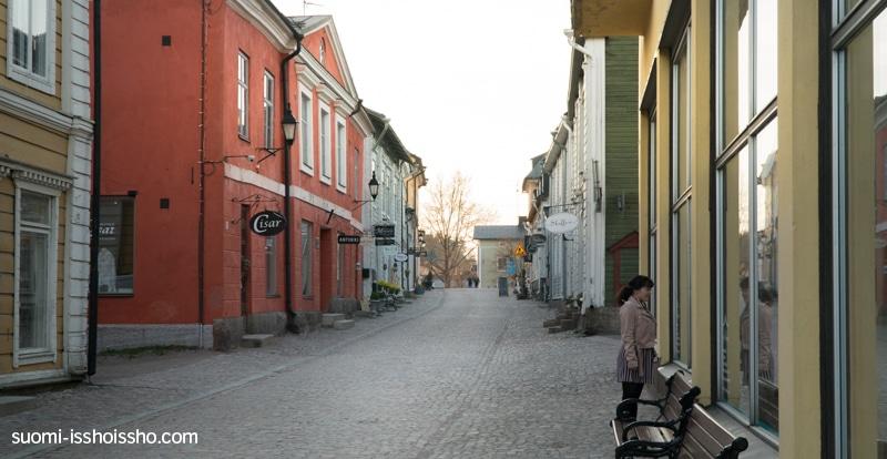 ポルヴォー旧市街