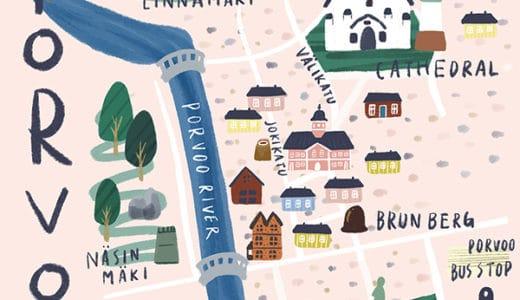 日帰りで行く!ポルヴォー旧市街のおすすめ観光スポット20選【ランチ・カフェ・ディナー】