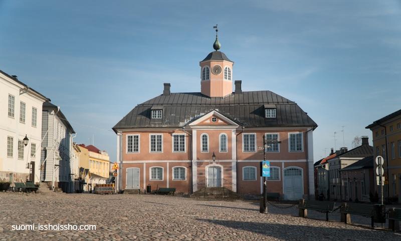 ポルヴォー旧市庁