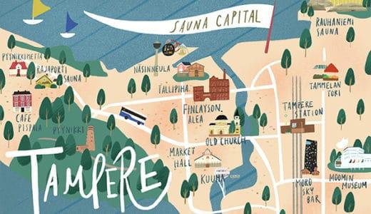 【モデルコース】サウナの街タンペレ1泊2日充実旅!見逃せない観光地13選【MAP付】