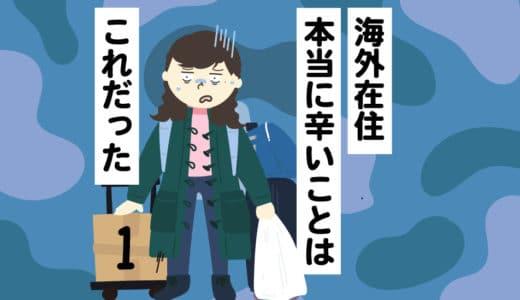 【海外在住】本当に辛いことはこれだった。寂しさと辛抱の限界!?本音を語る #1