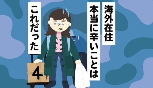 【海外在住】本当に辛いことはこれだった。暮らしの慣れで不満が溜まる? #4