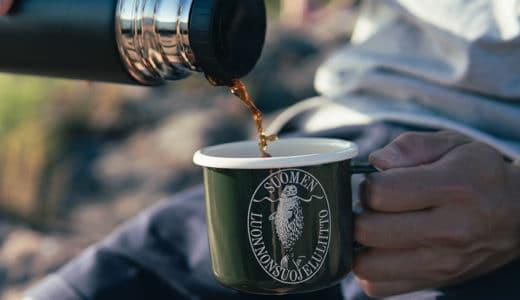北欧ブランド!アザラシロゴの可愛いホーローマグカップ【アウトドア・キャンプにおすすめ】